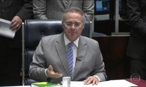 Renan pede ao STF que se manifeste sobre separação dos poderes