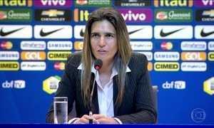CBF apresenta a nova técnica da seleção feminina de futebol