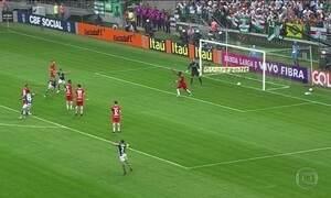 Gols do Fantástico: Palmeiras vence o Internacional e aumenta vantagem