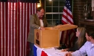 Americanos vão às urnas para eleger o novo presidente dos EUA