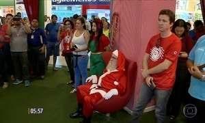 Campanha incentiva adoção de cartinhas ao Papai Noel