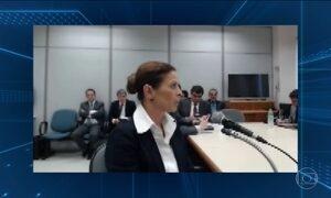 Claudia Cruz não responde às perguntas de Moro em audiência