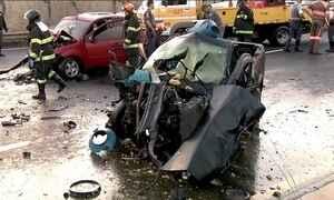 Estudo mostra o custo dos acidentes de trânsito