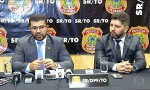 PF leva governador do Tocantins para depor na Operação Reis do Gado