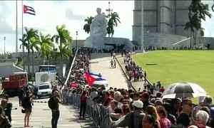 Começam em Havana as despedidas oficiais a Fidel Castro