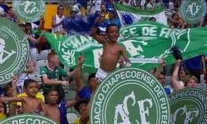 Homenagens à Chapecoense marcam última rodada do Brasileirão