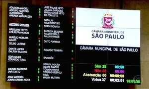 Aumento de salário de vereadores de São Paulo é suspenso pela Justiça