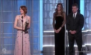 'La la land' é consagrado na premiação do Globo de Ouro