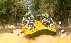 Famosa pelo rafting, Brotas oferece 60 atividades no meio da natureza