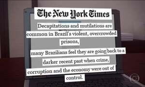 Nova rebelião de presos no Brasil é destaque na imprensa internacional