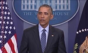 Obama tenta passar otimismo na última entrevista como presidente