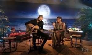 Noites de Luar: Lucas Lucco e Gaby Amarantos cantam sucesso 'Palpite'