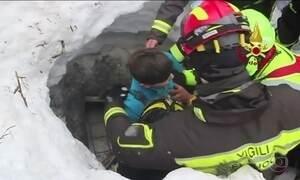 Em quatro meses, 45 mil terremotos atingiram região central da Itália