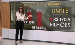 Governo fecha 2016 com rombo recorde, déficit de R$ 154 bilhões
