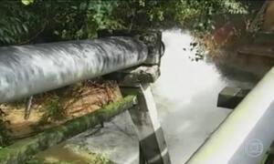 Chuva rompe adutora e deixa metade de Sorocaba sem água