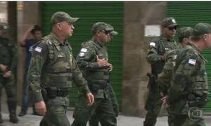 Cresce a presença de policiais militares nas ruas do Espírito Santo