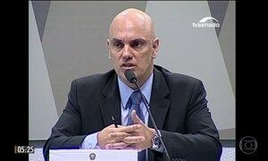 Alexandre de Moraes passa por sabatina e é aprovado pela CCJ do Senado