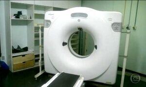 País tem mais de 130 tomógrafos quebrados em hospitais públicos