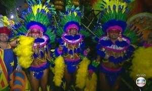 Seis escolas de samba abrem os desfiles do Grupo Especial no Rio