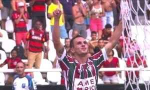 Gols do Fantástico: Fluminense vence Flamengo e leva a Taça Guanabara