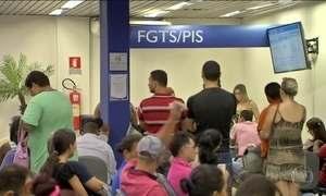 No país, 200 mil empresas devem FGTS a 7 milhões de trabalhadores