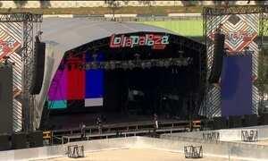 Festival Lollapalooza tem quase tudo pronto para shows no fim de semana