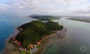Baía de Todos-os-Santos guarda  segredos num cenário de belas ilhas