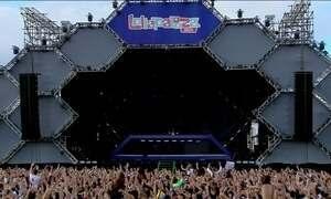 Primeiro dia do Lollapalooza reúne 100 mil; Metallica era o mais esperado