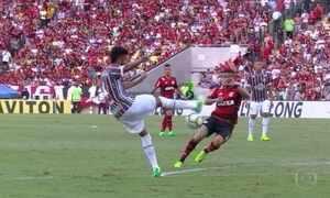 Flamengo vence o Fluminense no Carioca; veja os gols do Fantástico