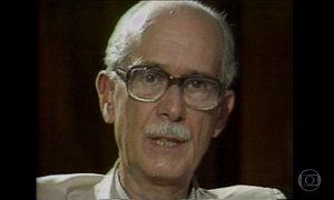 Crítico literário e sociólogo Antonio Candido morre aos 98 anos, em SP