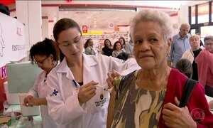 Dia D de vacinação contra gripe tem mais de 30 mil pontos no país