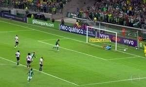 Palmeiras goleia Vasco na abertura do Brasileirão; veja os Gols do Fantástico
