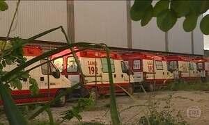 Ambulâncias estão paradas por descaso em MG