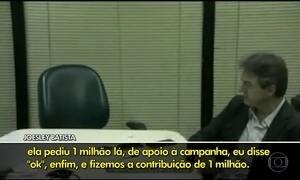 Joesley Batista relata série de doações legais e ilegais a Marta Suplicy