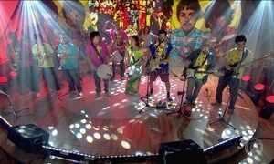 Fantástico convida Sargento Pimenta nos 50 anos do álbum Sgt. Pepper's