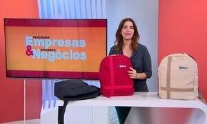 Empresária lança mochila antifurto que dá segurança ao cliente