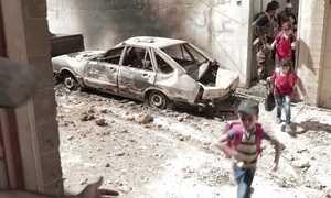 Em Mossul, imagens mostram famílias tentando furar  bloqueio de terroristas