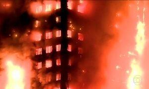 Incêndio em prédio de Londres deixa 12 mortos e mais de 70 feridos