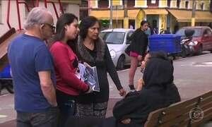 Na Cracolândia, famílias buscam por parentes que se perderam nas drogas