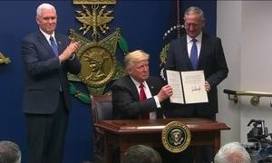 Decreto que barra entrada nos EUA de cidadãos de 6 países já vigora