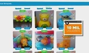 Empresário cria plataforma para troca de brinquedos usados
