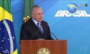 Temer nomeia novo ministro da Cultura e diz que Brasil não parou