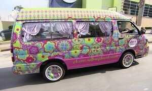 Salão de beleza móvel anima festas infantis e garante bom faturamento