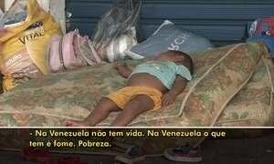 Extra: fome, desesperança e a triste situação dos venezuelanos no Brasil