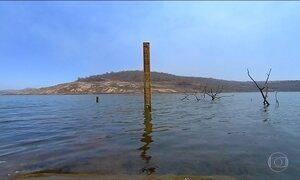 Seca em Goiás deixa reservatório no nível mais baixo da história: 8%