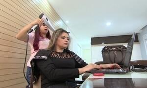 Microfranquia leva tratamentos de beleza para a casa das clientes