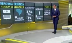 Câmara vota financiamento de campanhas na Reforma Política