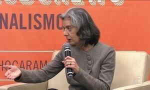 Presidente do STF comenta reação do Senado contra a punição a Aécio