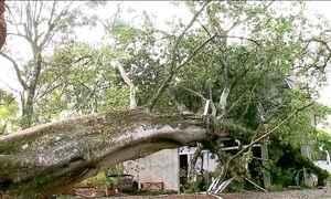 Chuva no Sul deixa 25 cidades em situação de emergência