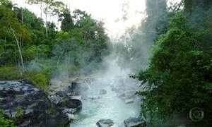 Águas de 'rio fervente' na Amazônia peruana podem chegar a 80 graus